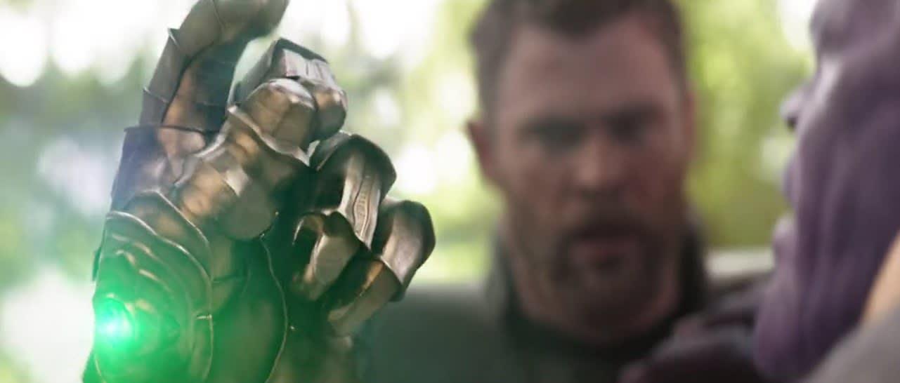 Thanos snaps half the universe away