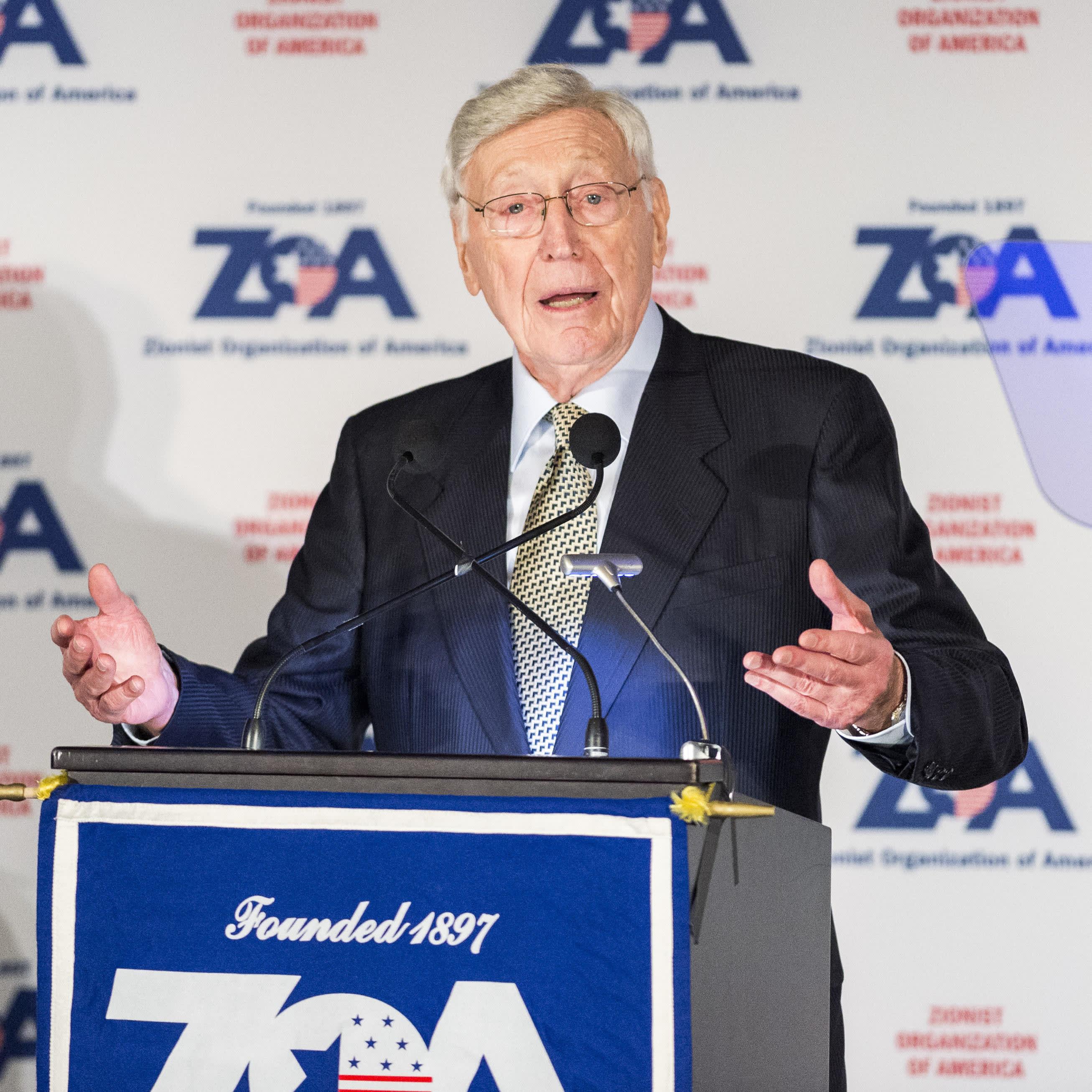 A man giving speech