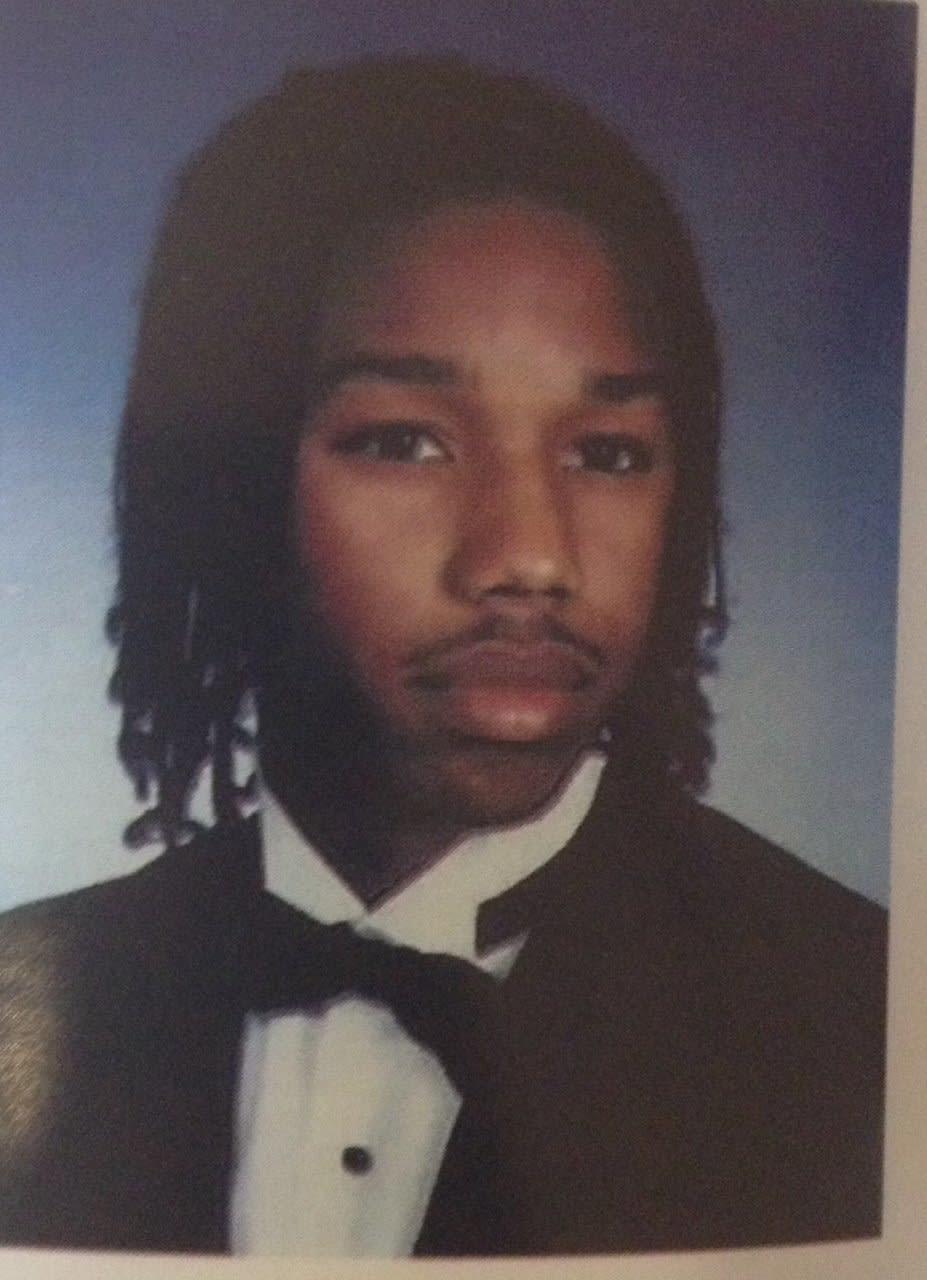 Michael B. Jordan adolescente.