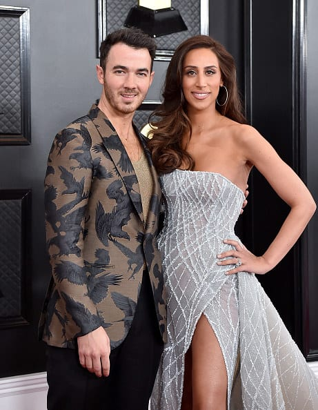 """The oldest Jonas brother and the star of """"Married to Jonas"""""""
