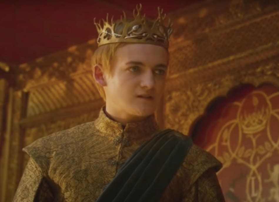 King Joffrey at the Purple Wedding