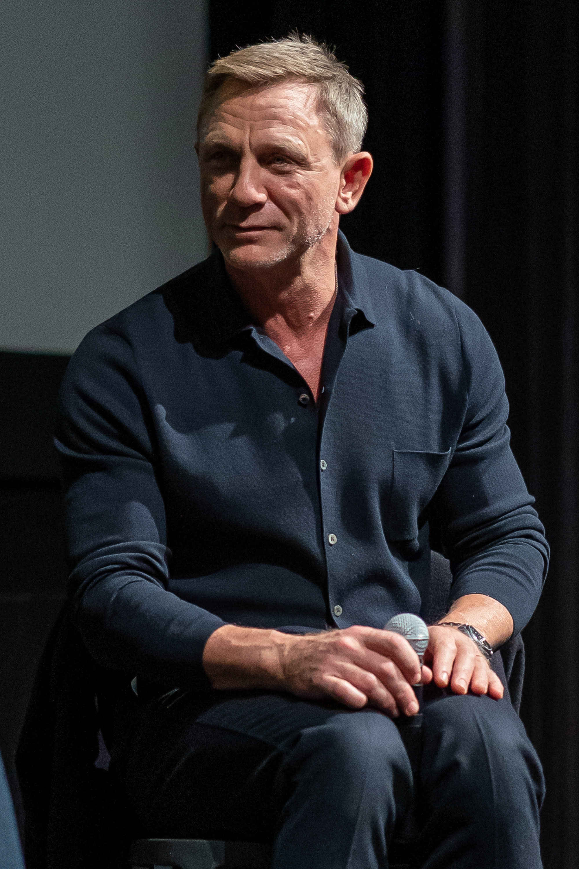 Daniel Craig atualmente.