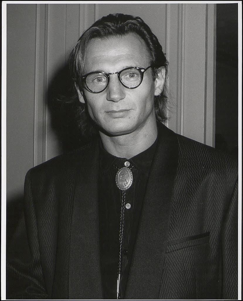 Liam Neeson quando era mais novo.