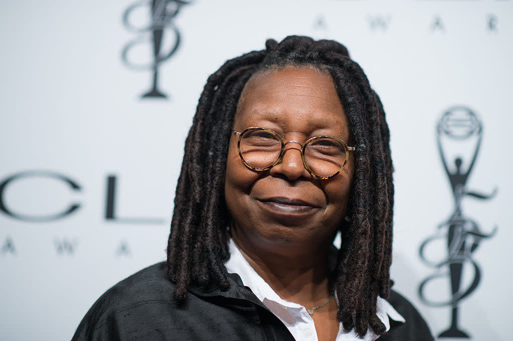 Whoopi Goldberg arrives at 55th Annual CLIO Awards