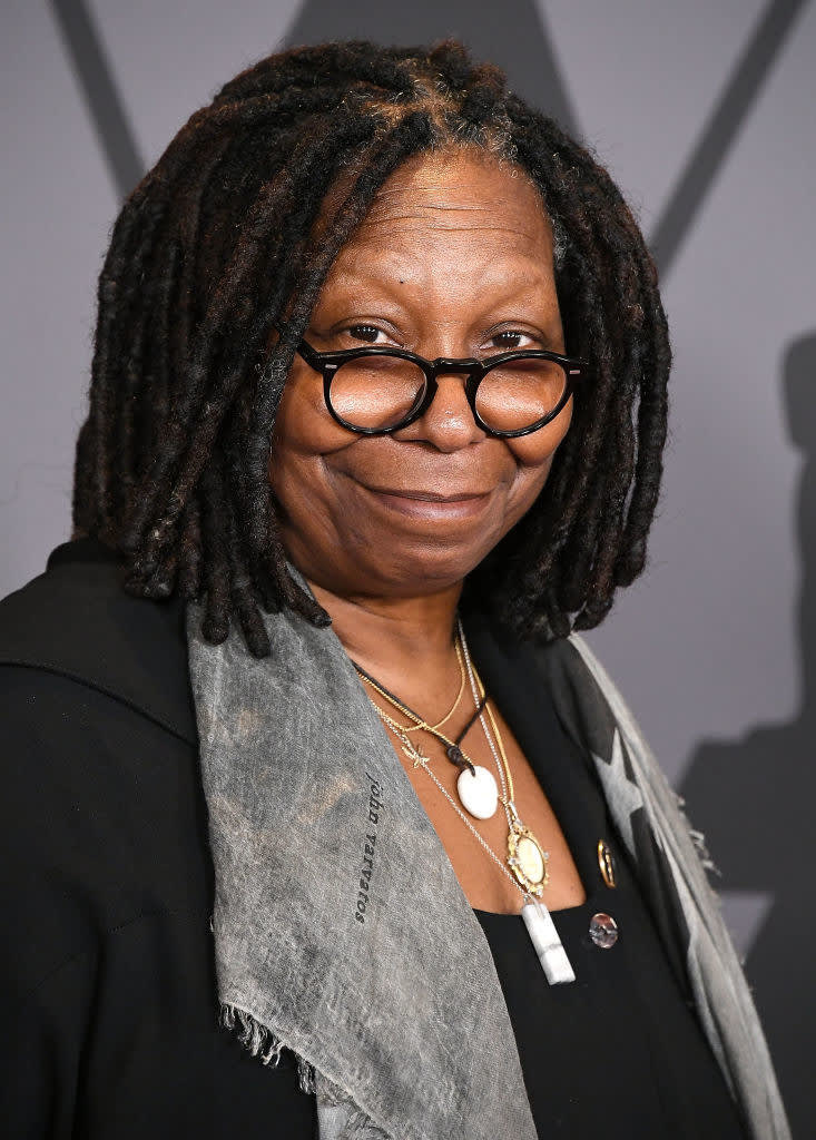 Whoopi Goldberg arrives at the Academy Of Motion Picture Arts And Sciences' 9th Annual Governors Awards