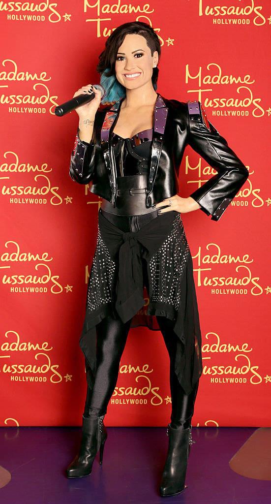 Demi Lovato wax figure