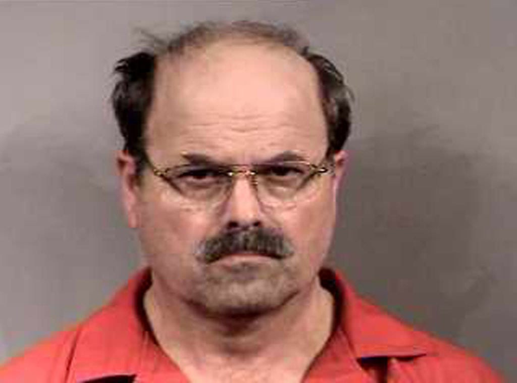 The mugshot of Dennis Rader aka BTK Killer