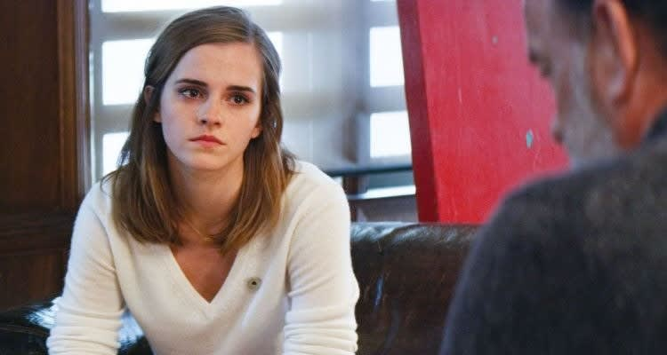 Imagem mostra a atriz Emma Watson no fime O Círculo.