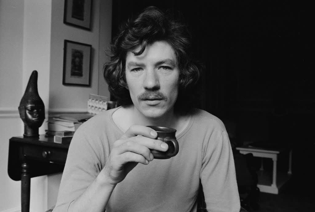 Ian McKellen novinho.
