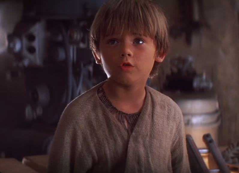 Anakin tells Obi-Wan about the pod he rebuilt