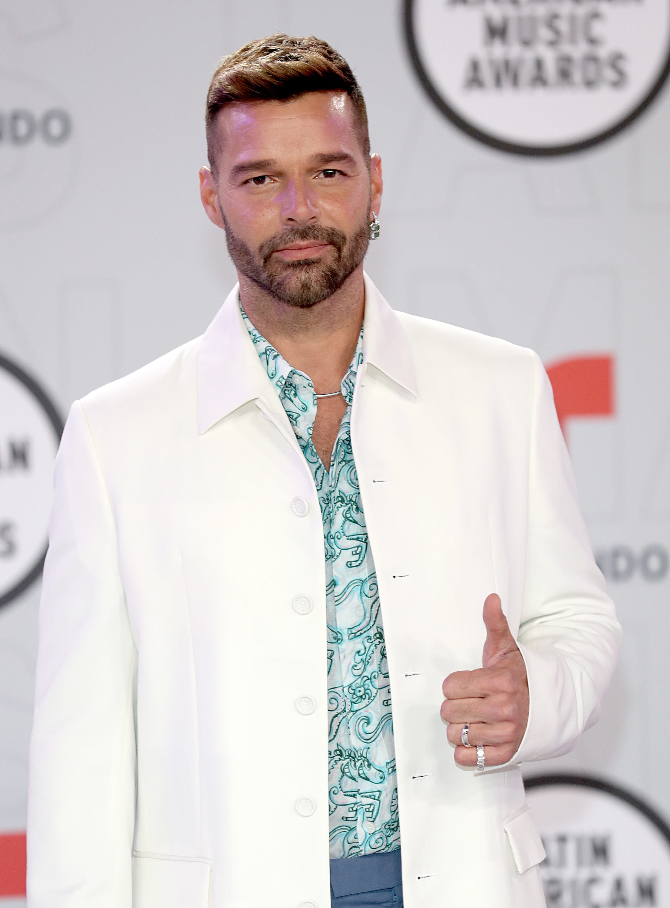 Martin at the American Music Awards in 2021