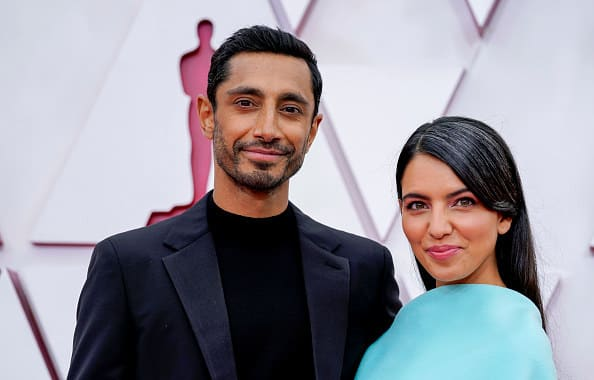 Riz and Fatima on the red carpet