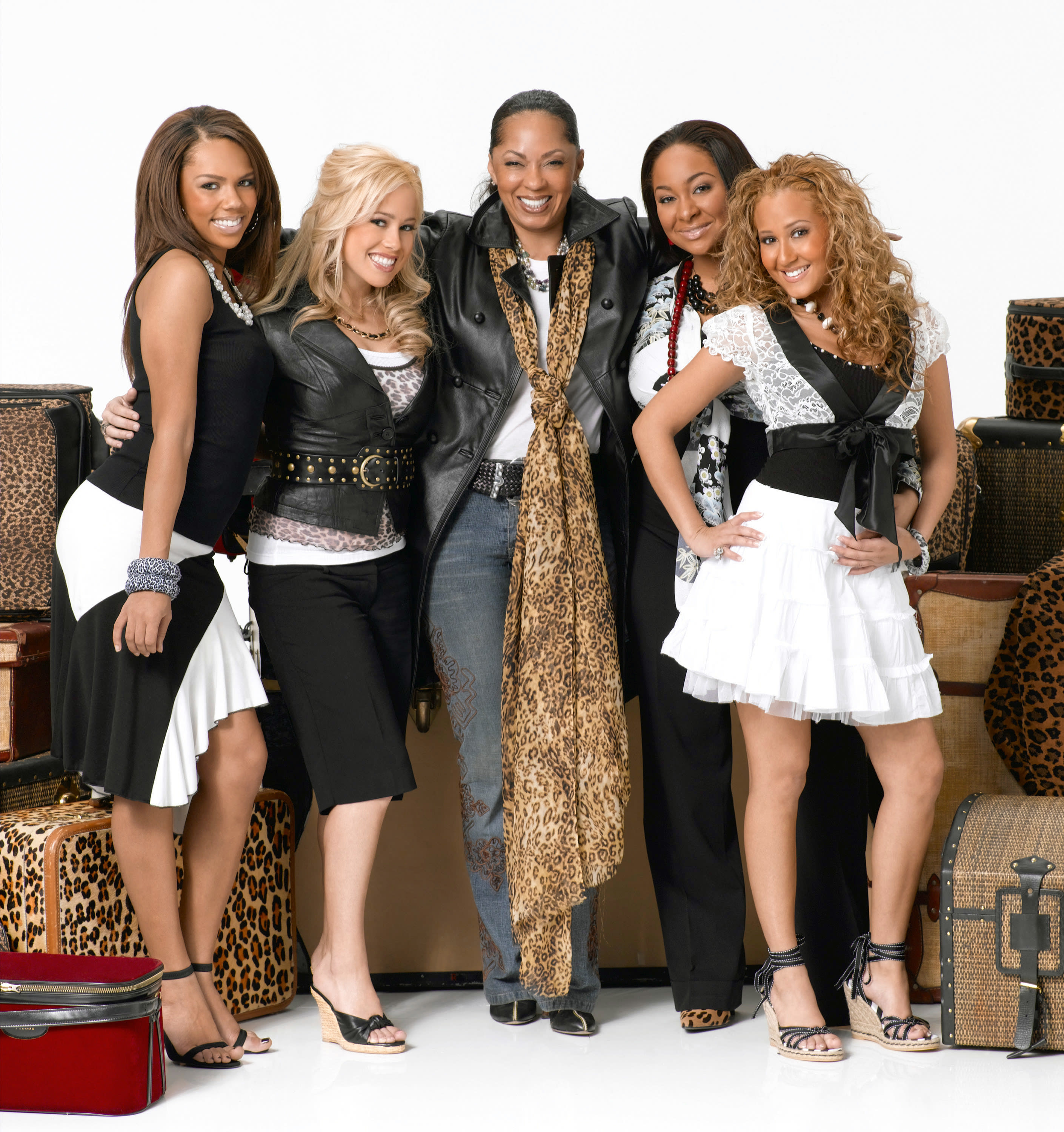 The cast of the second Cheetah Girls movie