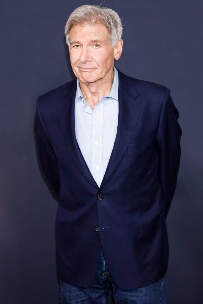 Harrison Ford hoje em dia.