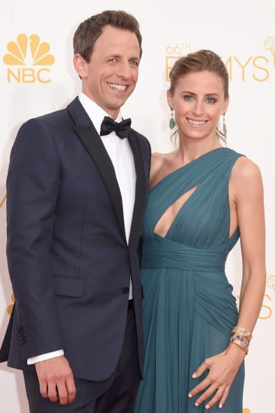 The TV host and the lawyer on the Emmys red carpet