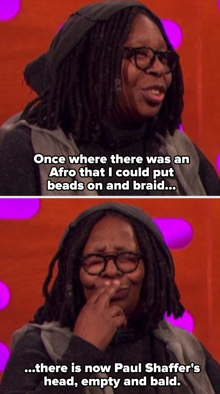 Whoopi Goldberg falando