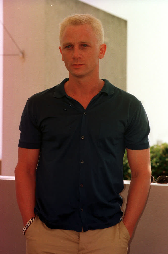 Daniel Craig quando era mais novo.