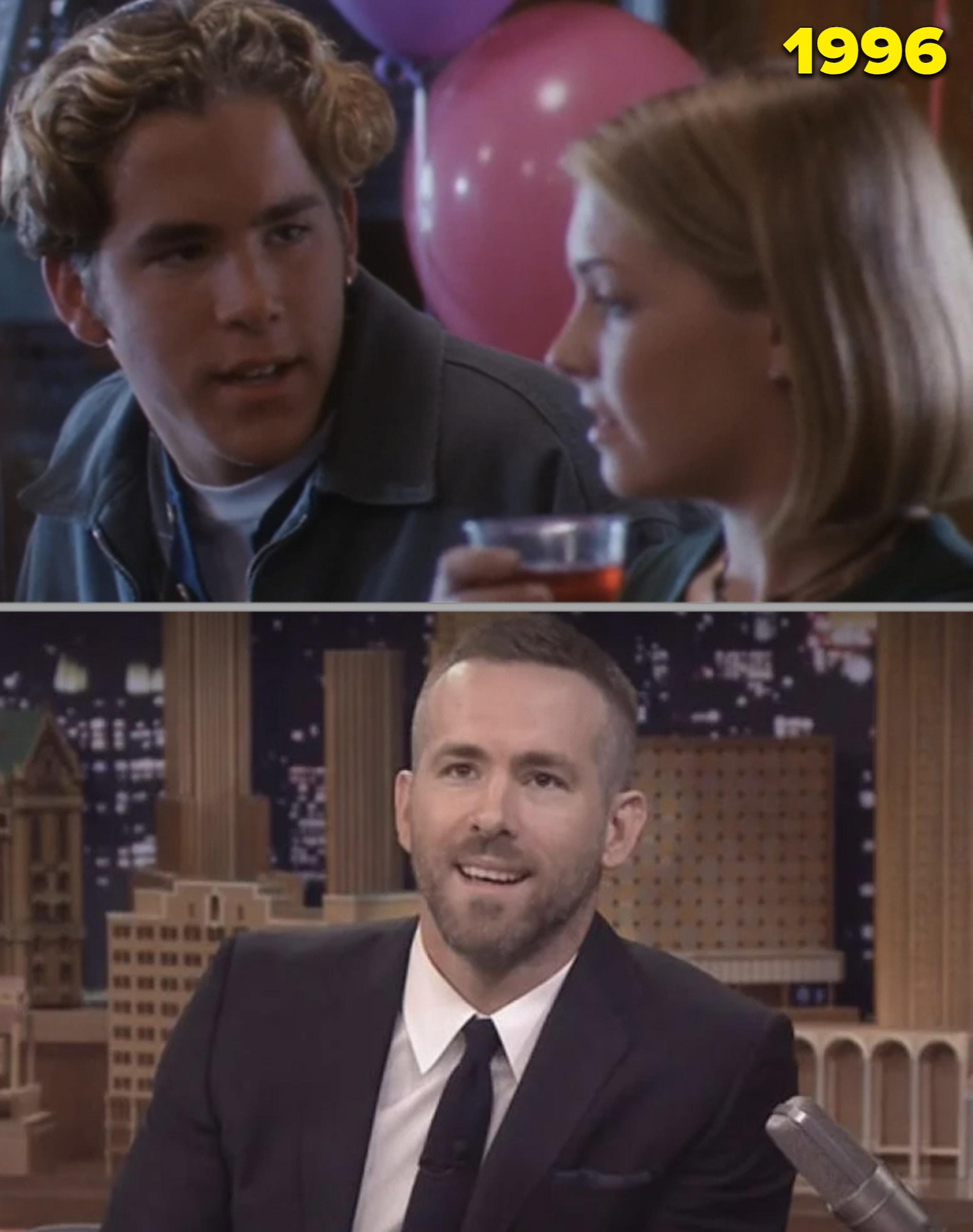 Ryan Reynold com Sabrina e numa entrevista