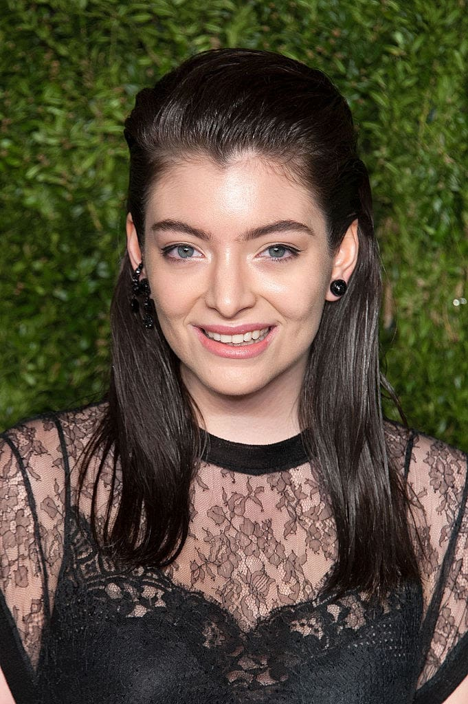 Lorde attends the 12th annual CFDA/Vogue Fashion Fund Awards