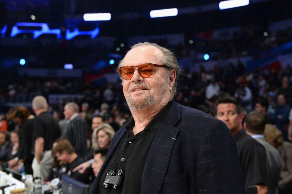 Jack Nicholson atualmente.