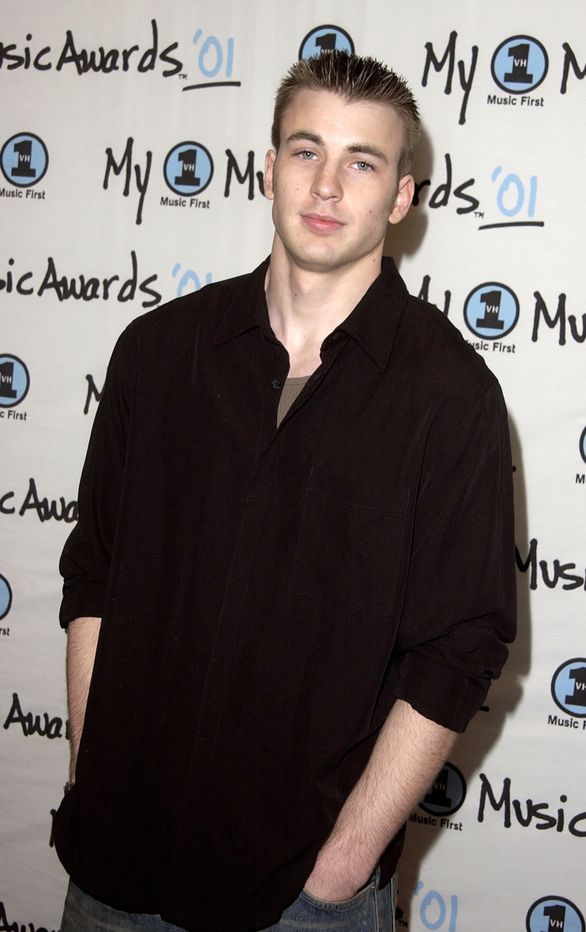 Evans at the VH1 Music Awards in 2001