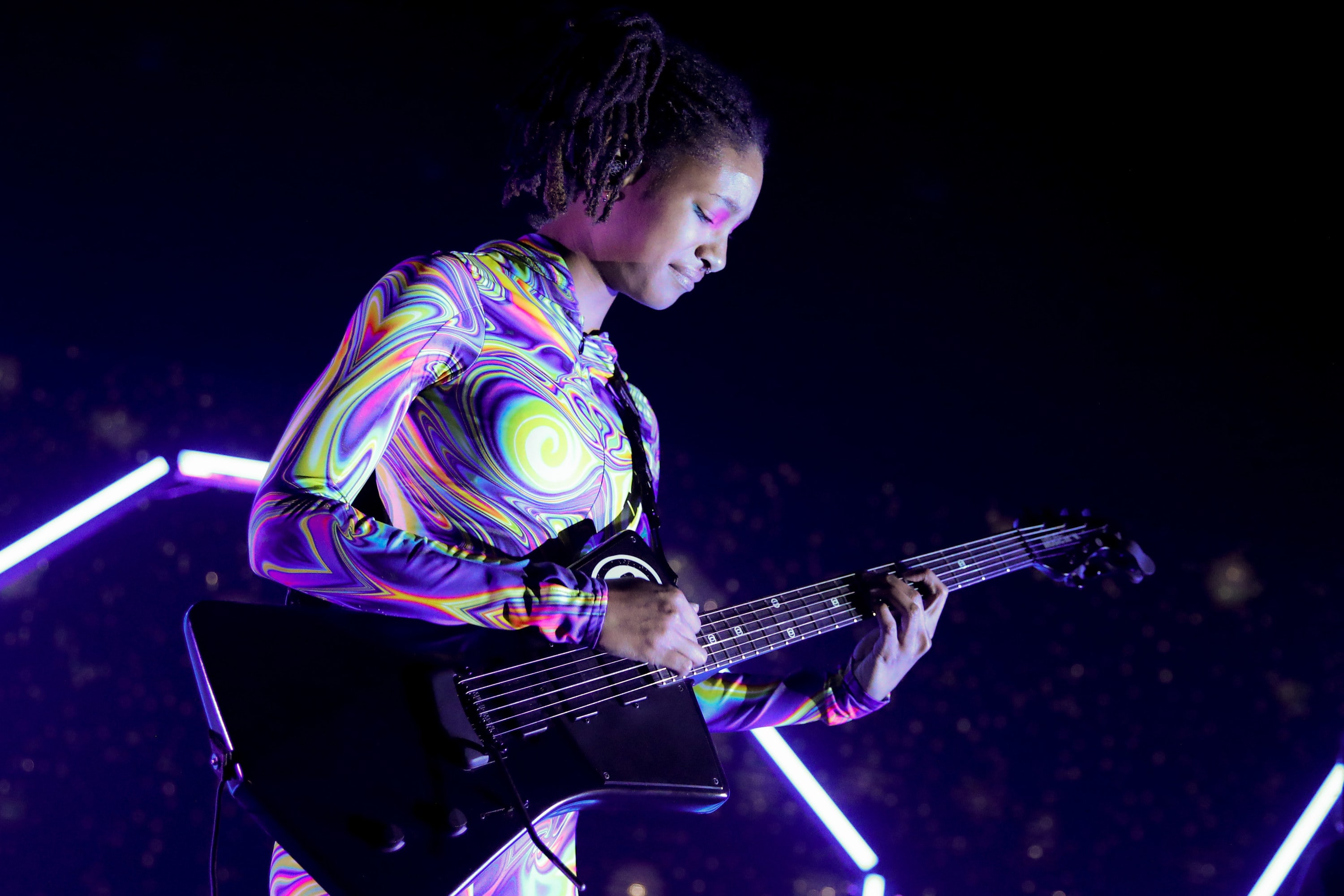 Willow Smith performs at The Novo by Microsoft on December 19, 2019 in Los Angeles City