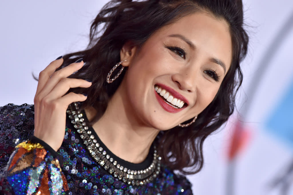 Constance Wu on the red carpet