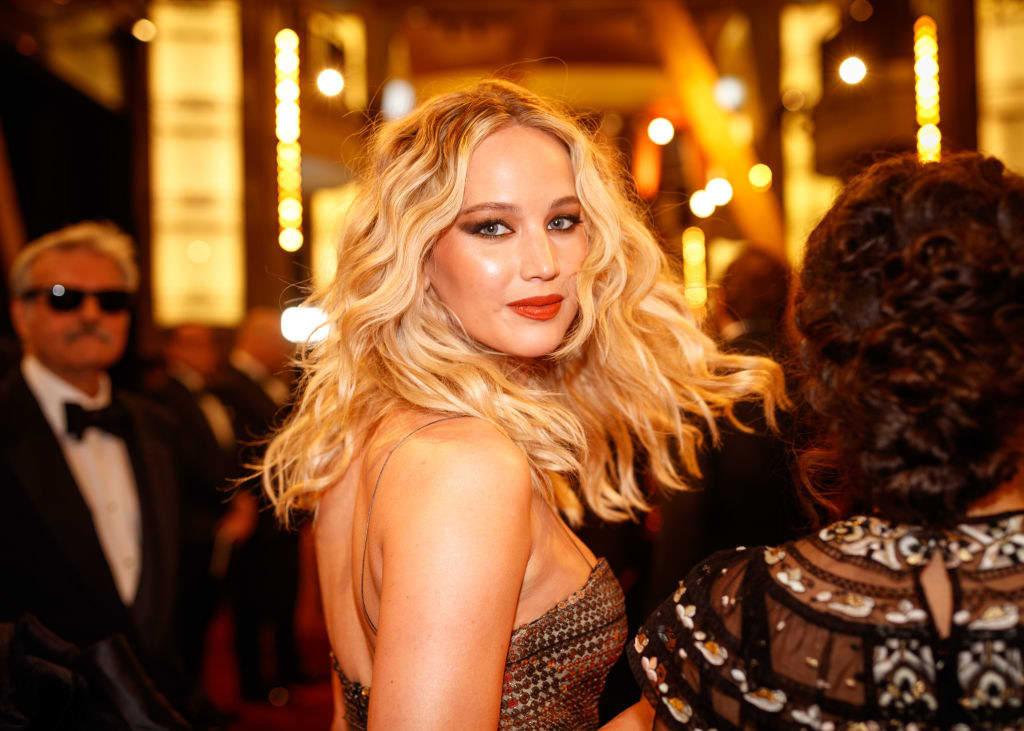 Jennifer Lawrence on the red carpet
