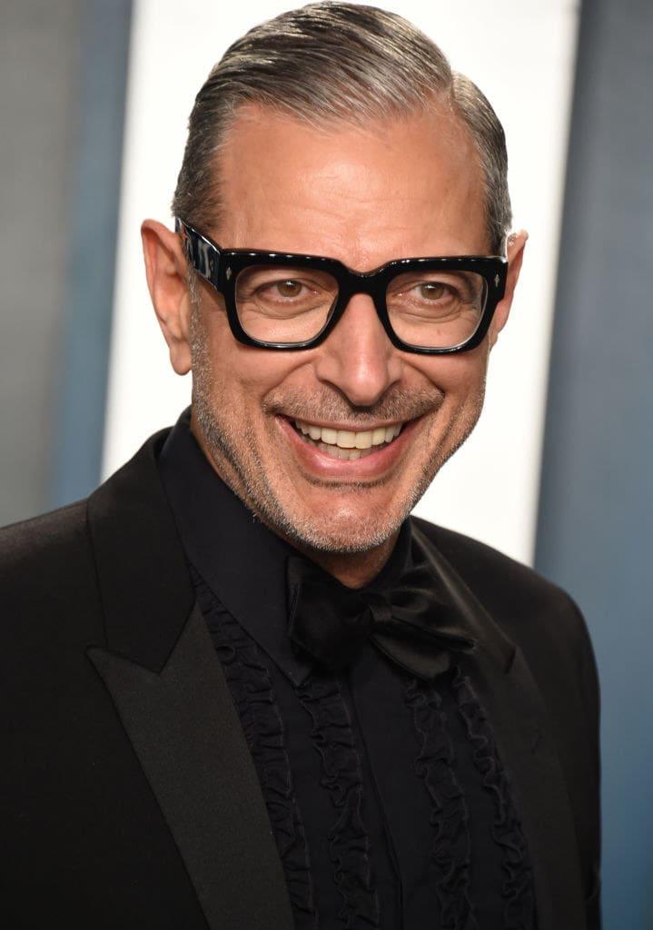 Jeff Goldblum atualmente.