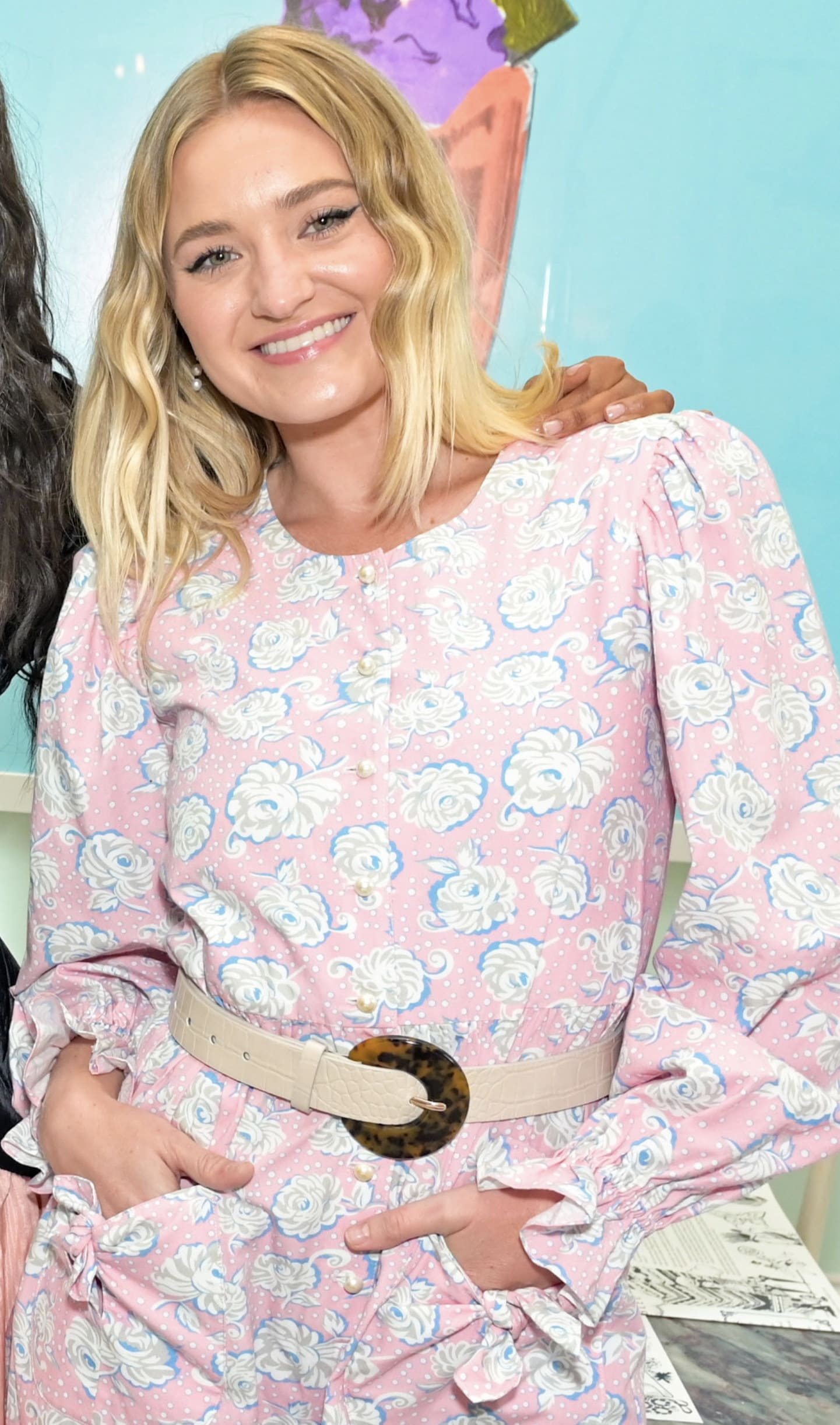 Michalka at a New York Fashion Week event in 2021