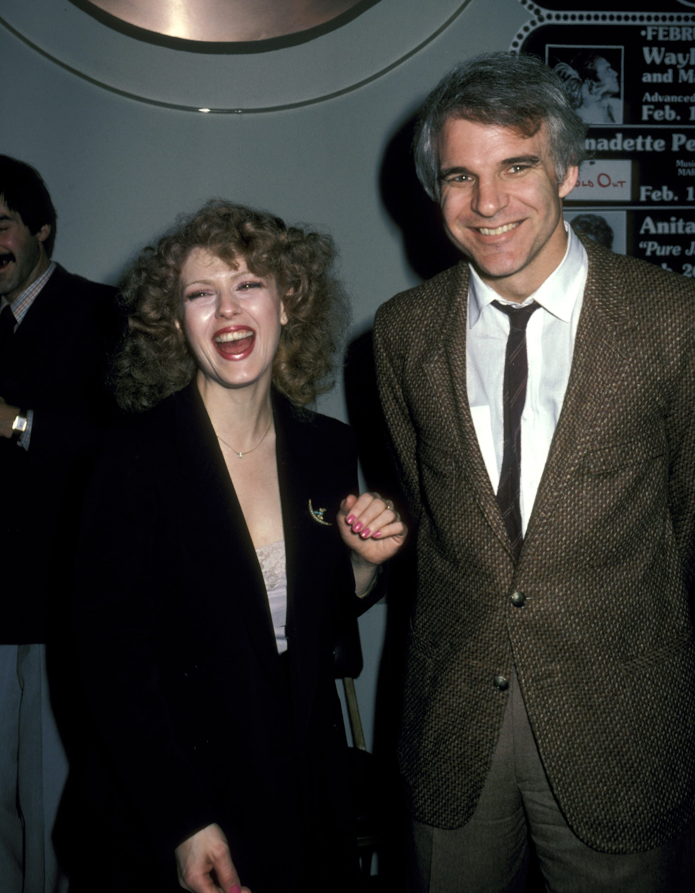 Martin and Peters during an opening at an LA theater in 1980