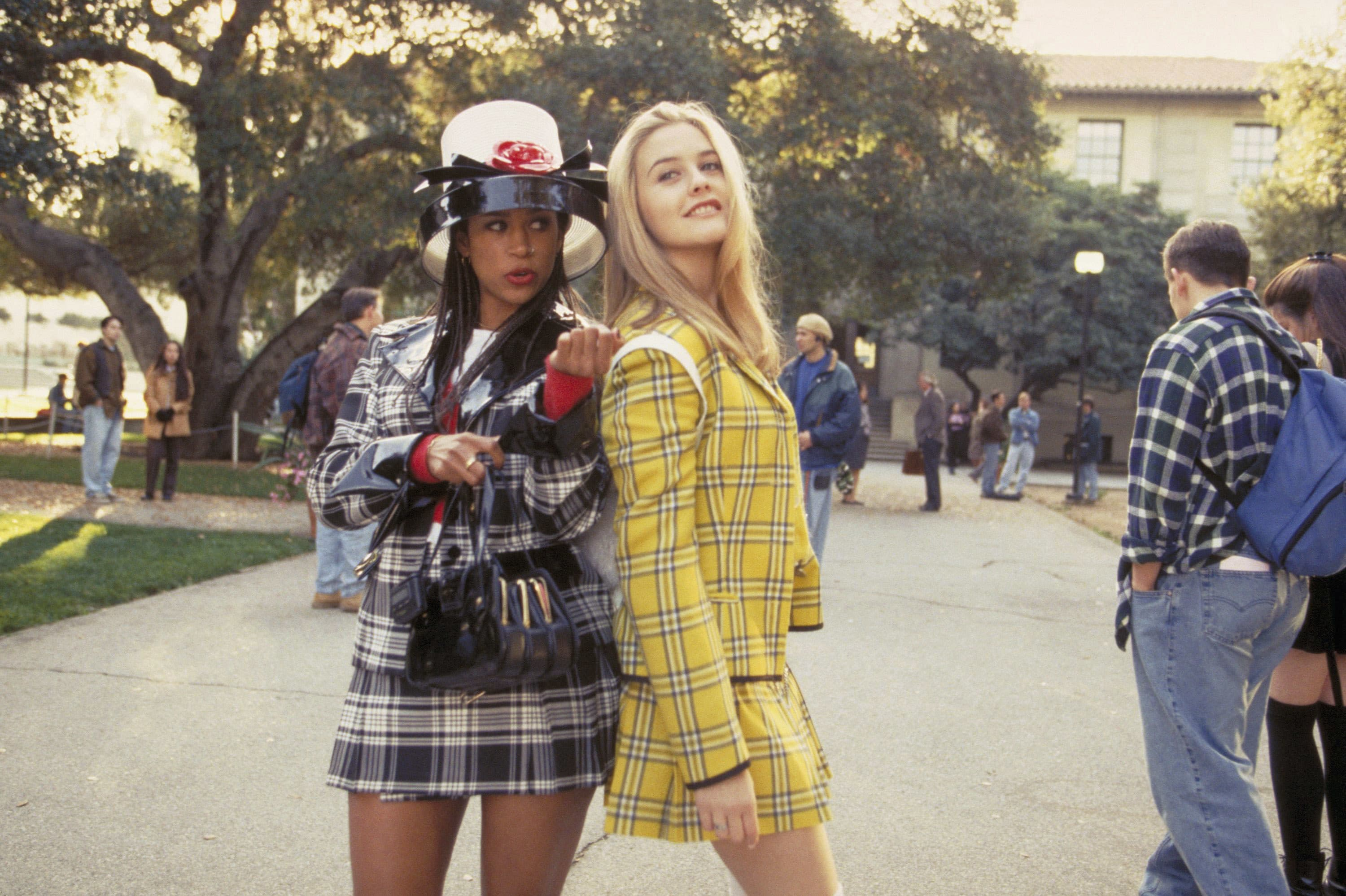 """Stacey Dash and Alicia Silverstone """"Clueless"""""""