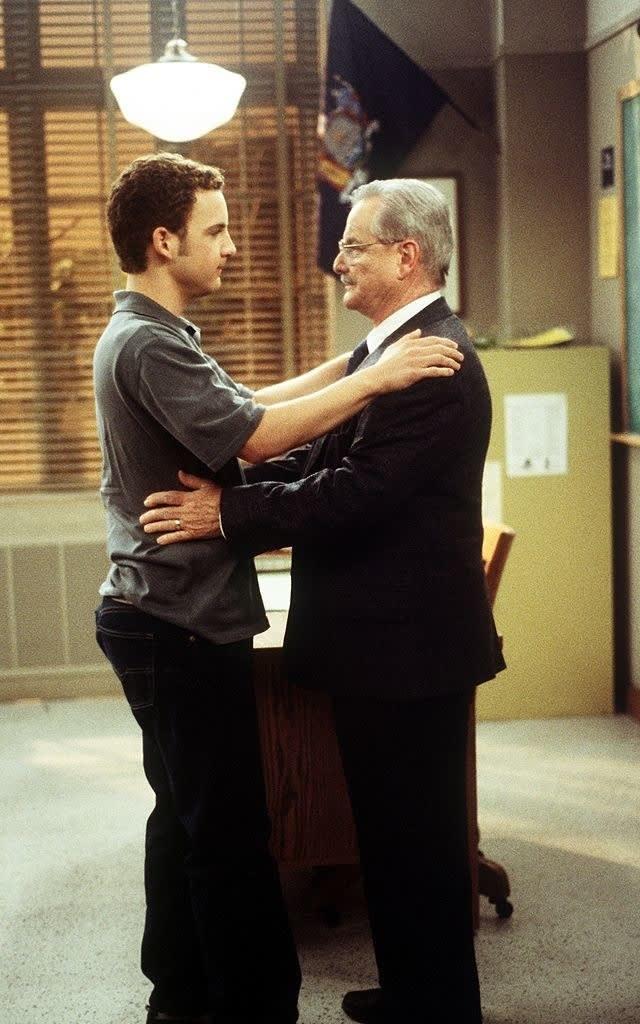 hugging mr feeny