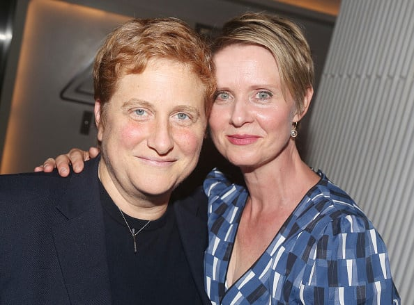 """The nonprofit founder and the actor who played Miranda Hobbes on """"Sex and the City"""""""