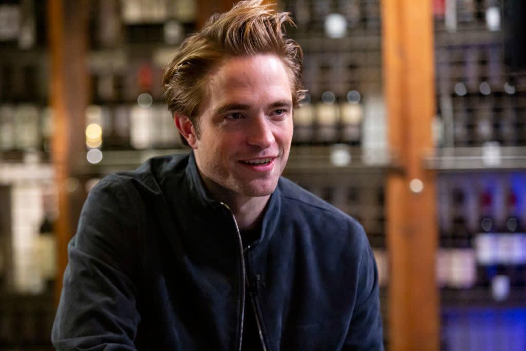 A shot of Robert Pattinson at a Hollywood event