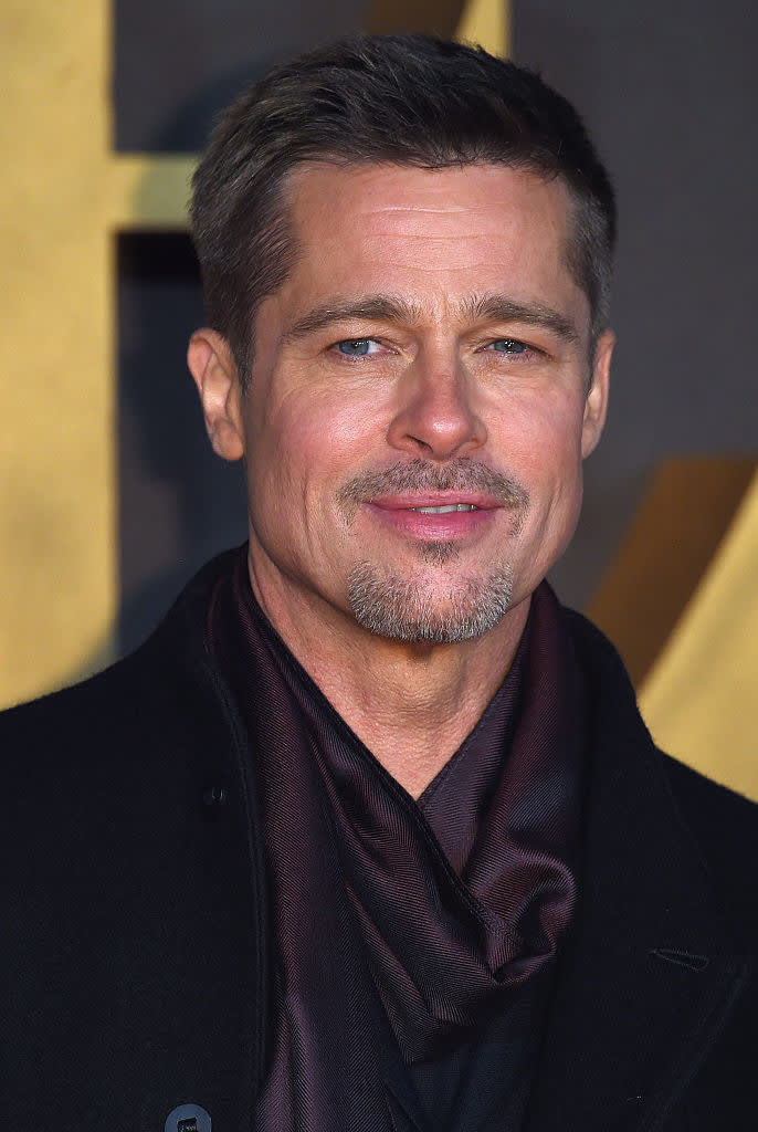 """Brad Pitt attends the UK Premiere of """"Allied"""""""