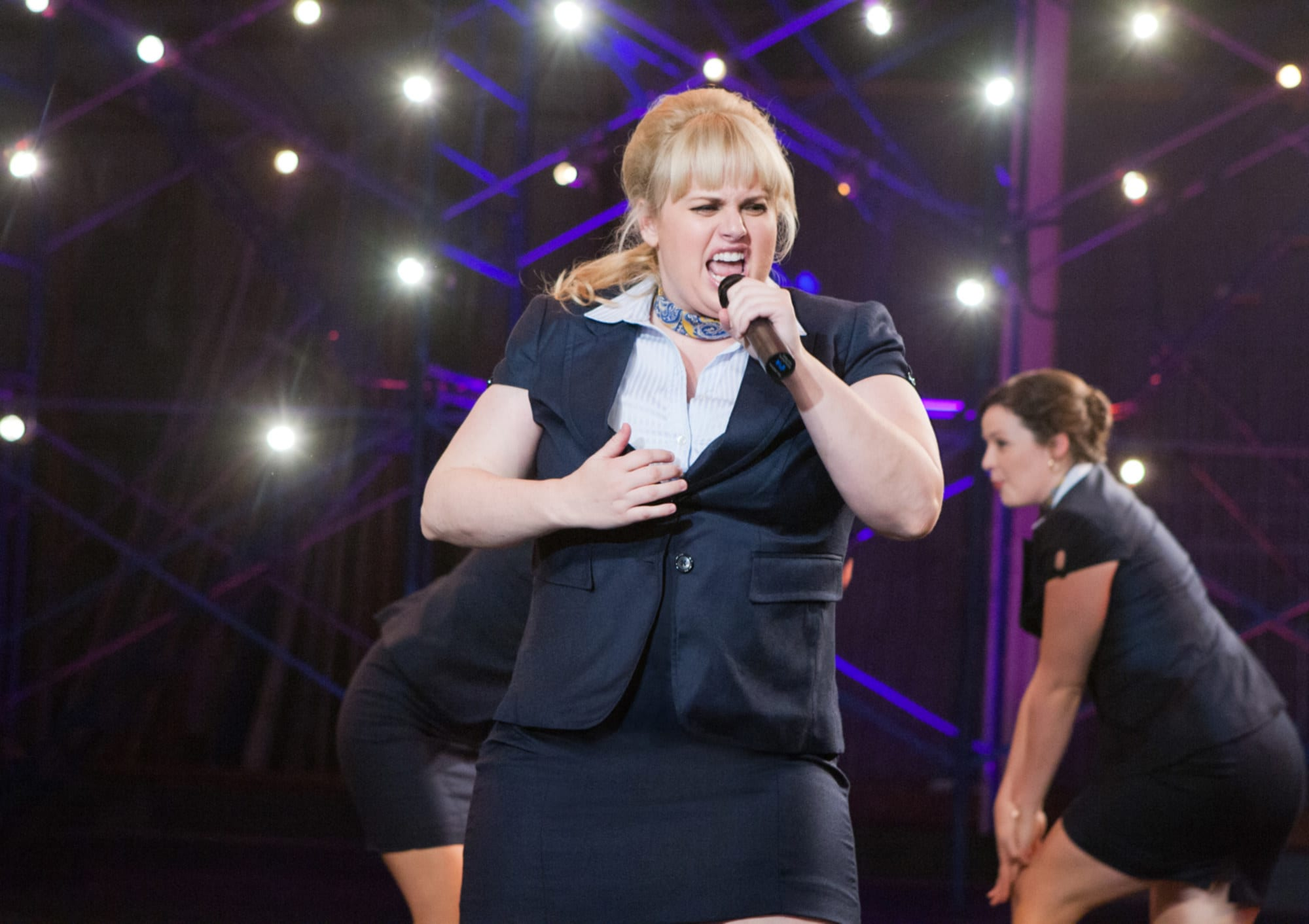 """Rebel Wilson singing in """"Pitch Perfect"""""""