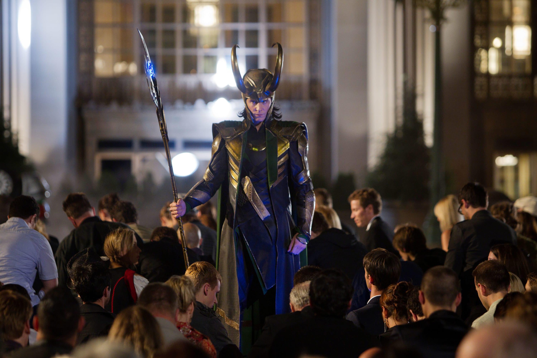 Loki forcing people to kneel