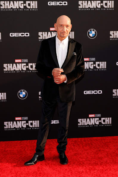 Ben Kingsley attended the premiere of Shang-Chi