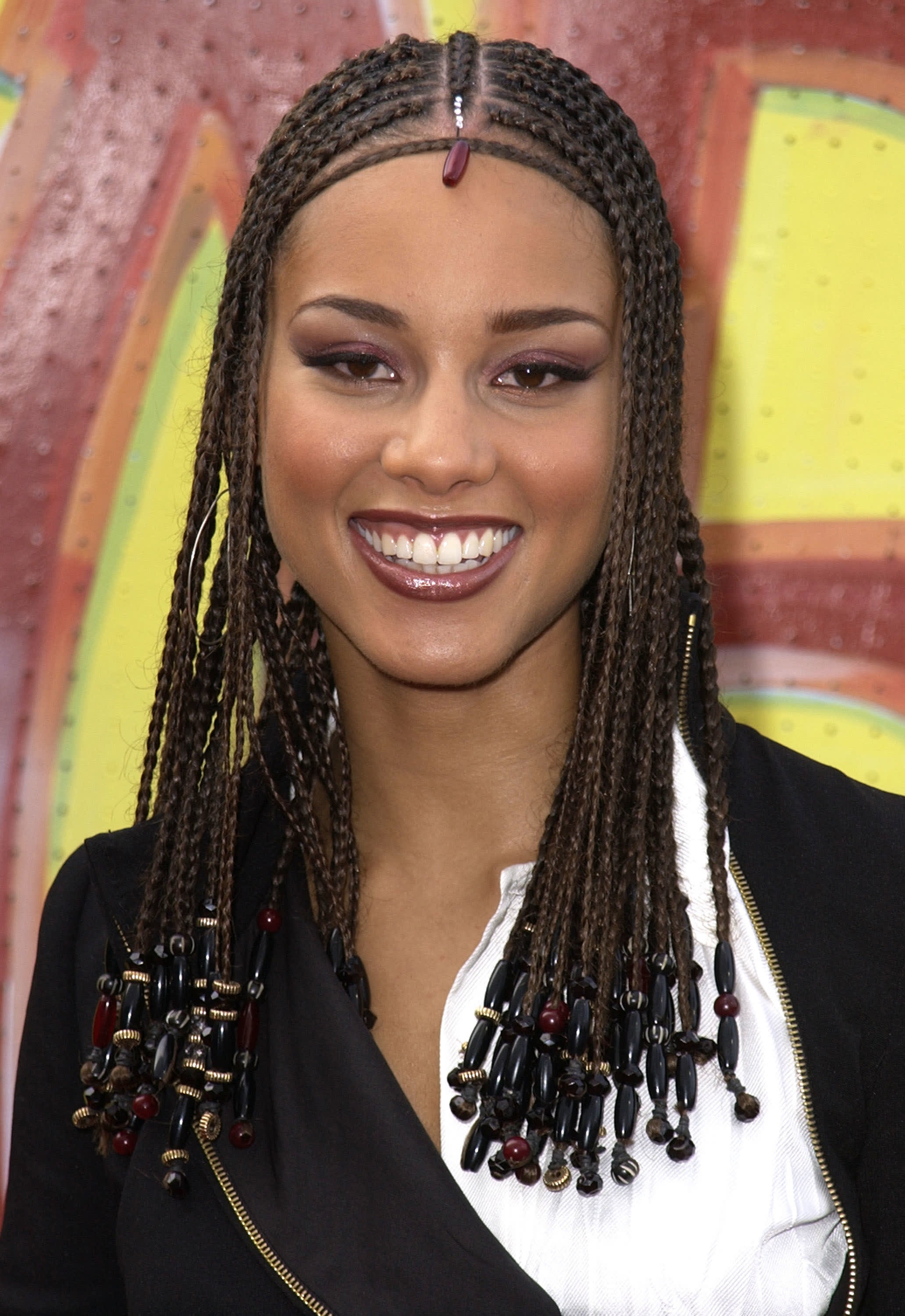 Keys at the Soul Train Lady of Soul Awards in 2001