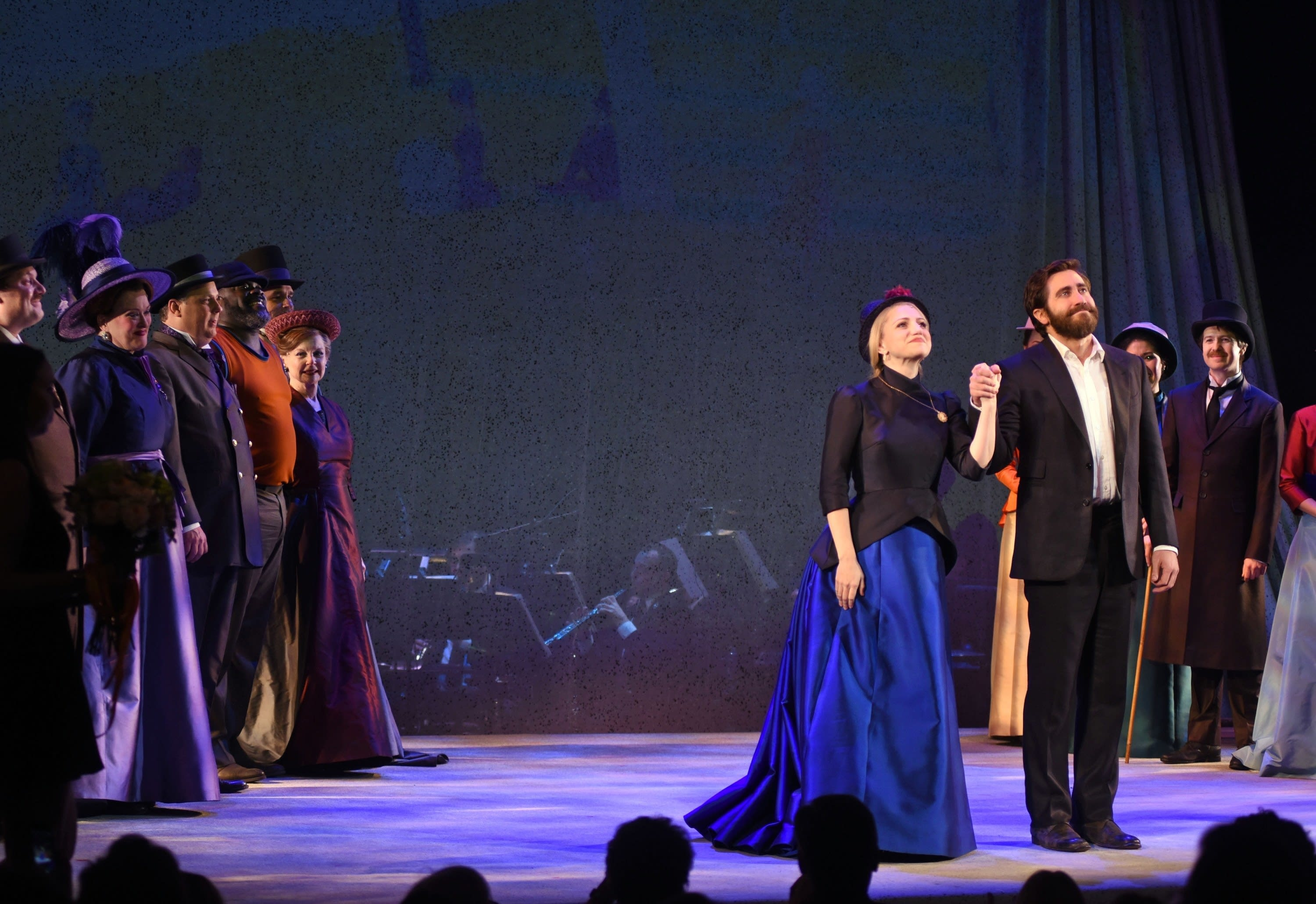 The curtain call for Sunday in the Park with George