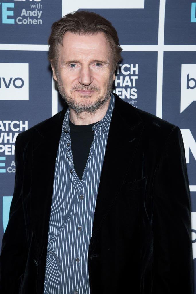 Liam Neeson atualmente.