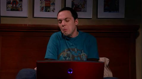 "Sheldon from ""The Big Bang Theory"""