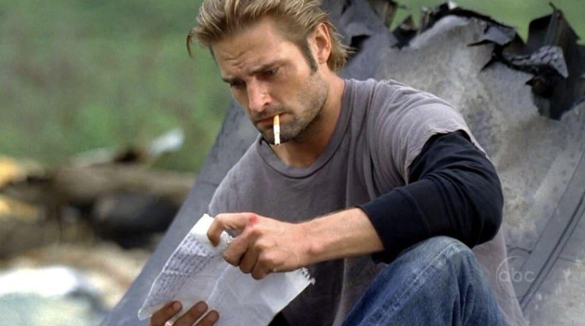 """Imagem de Sawyer, de """"Lost""""."""