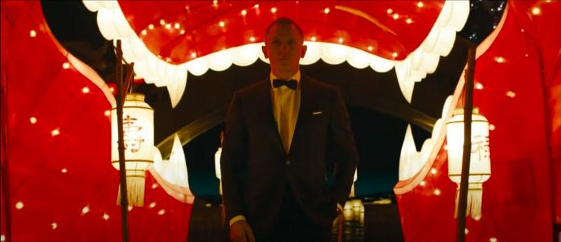 "James Bond in ""Skyfall"""