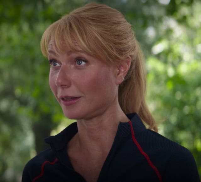 Pepper hints to Tony that she's pregnant
