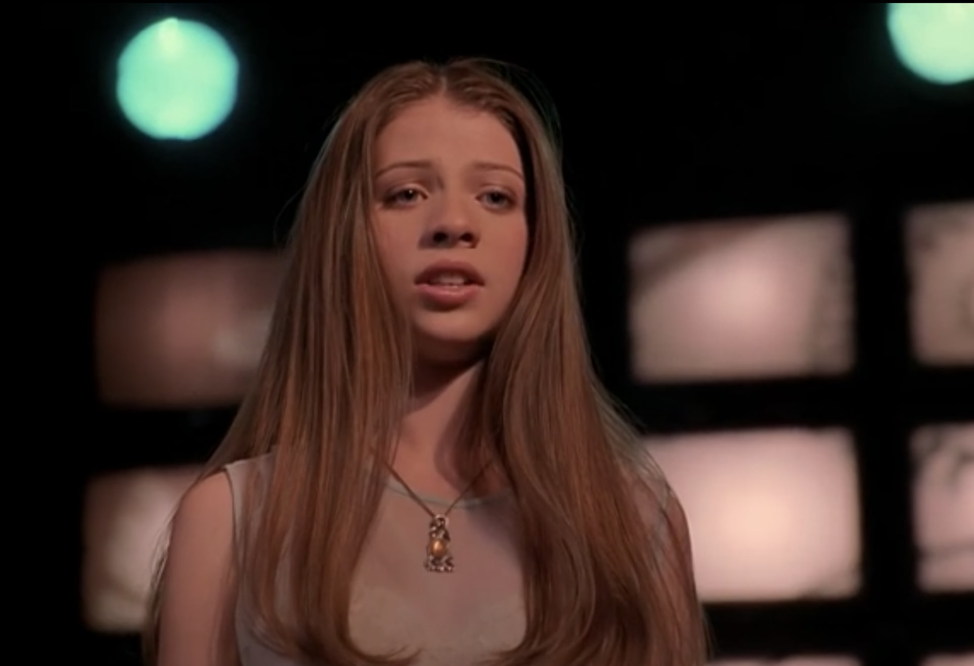 Michelle as Dawn on Buffy the Vampire Slayer