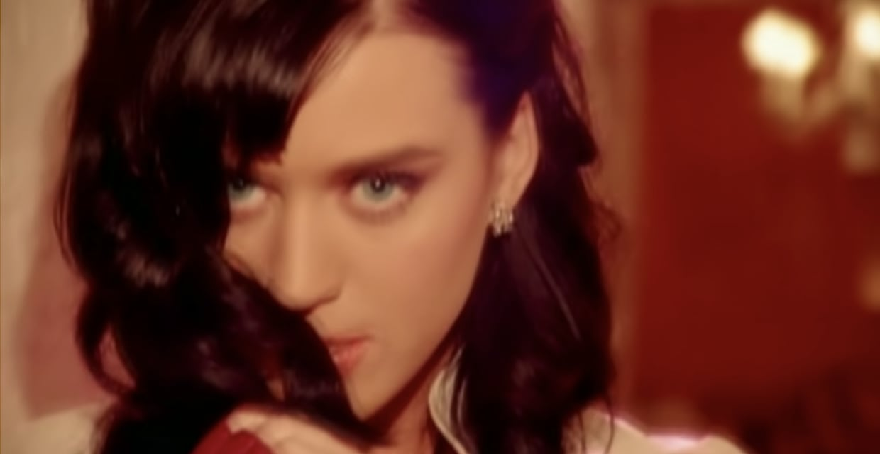 Katy Perry in the I Kissed A Girl music video