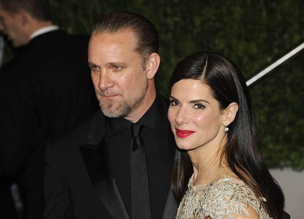 Jesse James and Sandra Bullock
