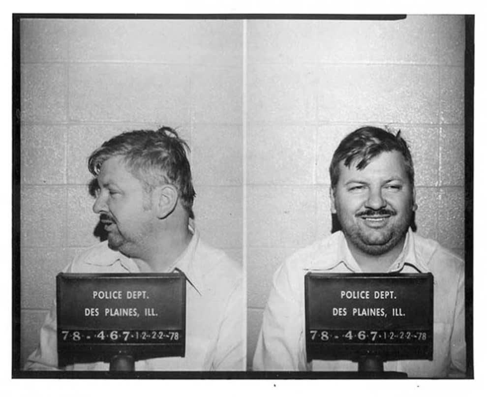 mugshot de John Wayne Gacy